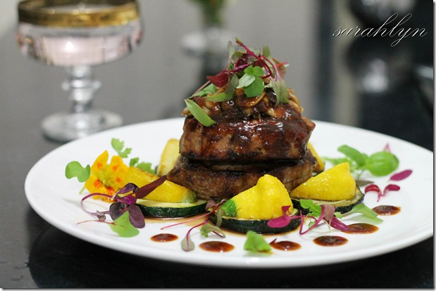 Eye Fillet Steak with Orange Hoisin SauceW1