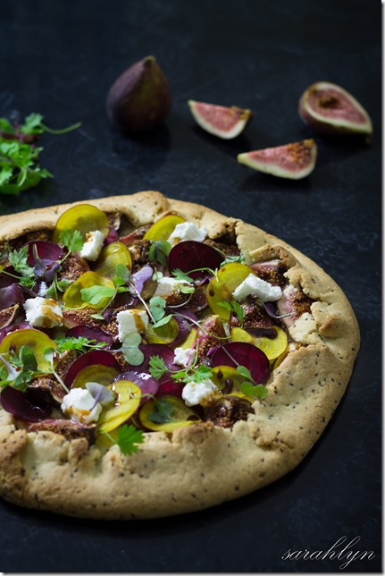 Fig and Beetroot GaletteW