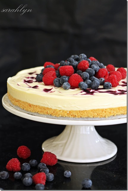 NO-bake berry cheesecakeW
